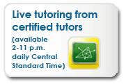Live Tutoring From Certified Tutors