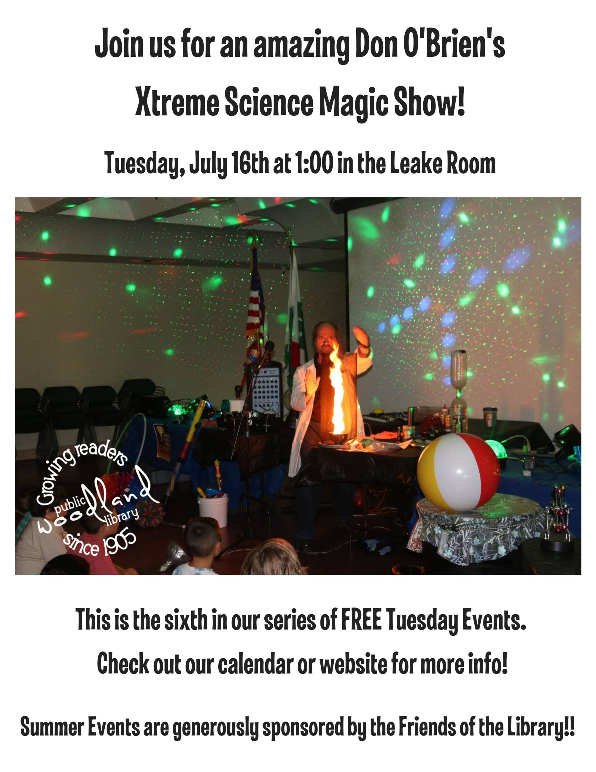 Xtreme Science Magic Flyer
