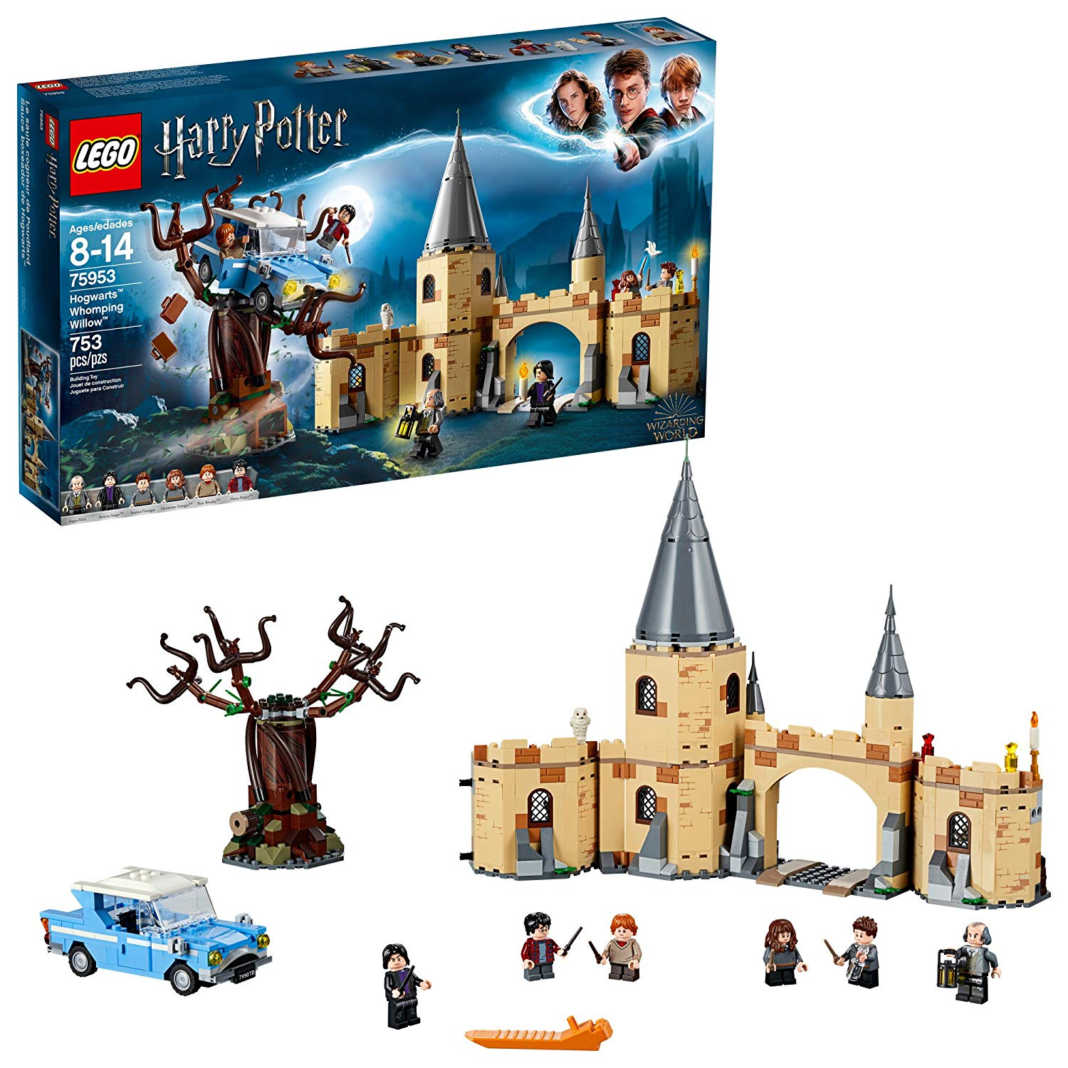 Whomping Willow Lego Set
