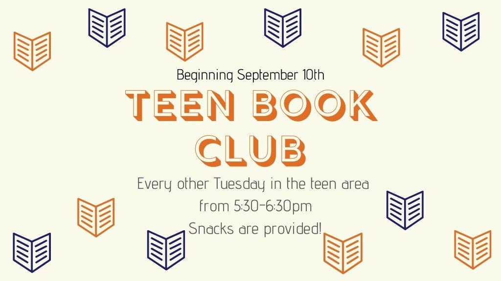 Teen Book Club 2019-2020