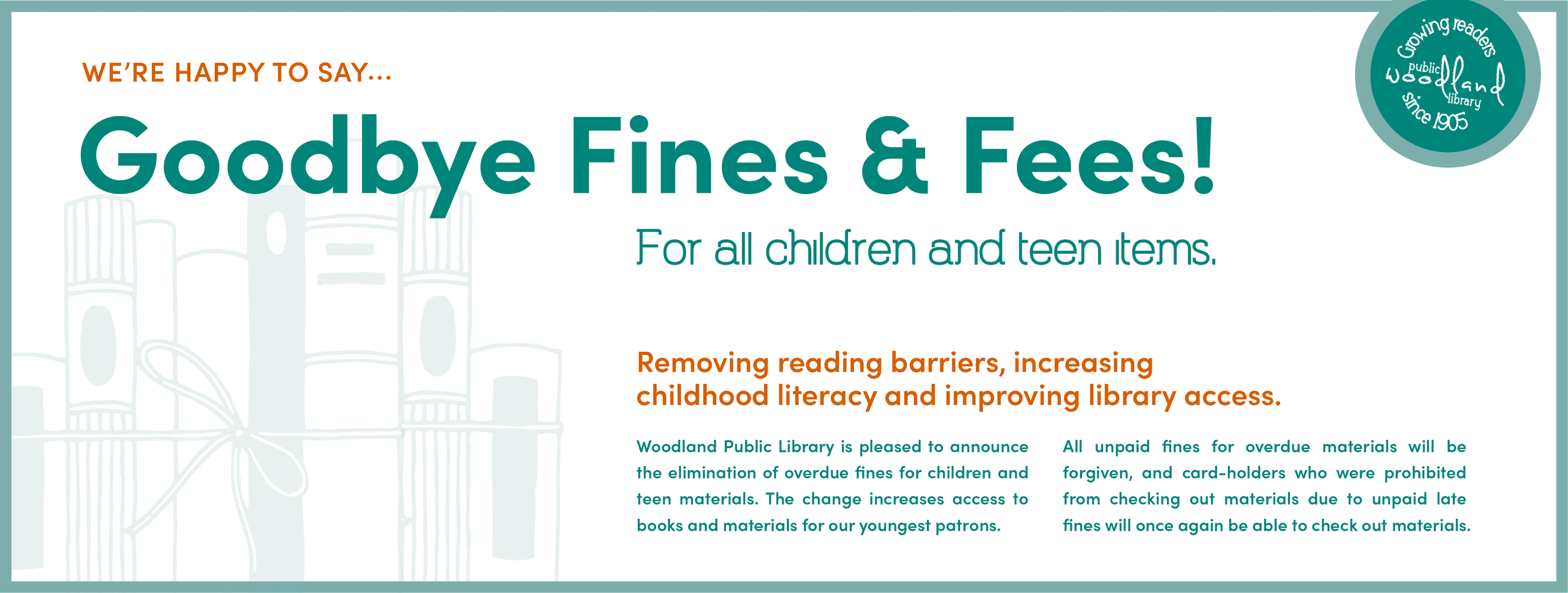 Goodbye Fines and Fees!
