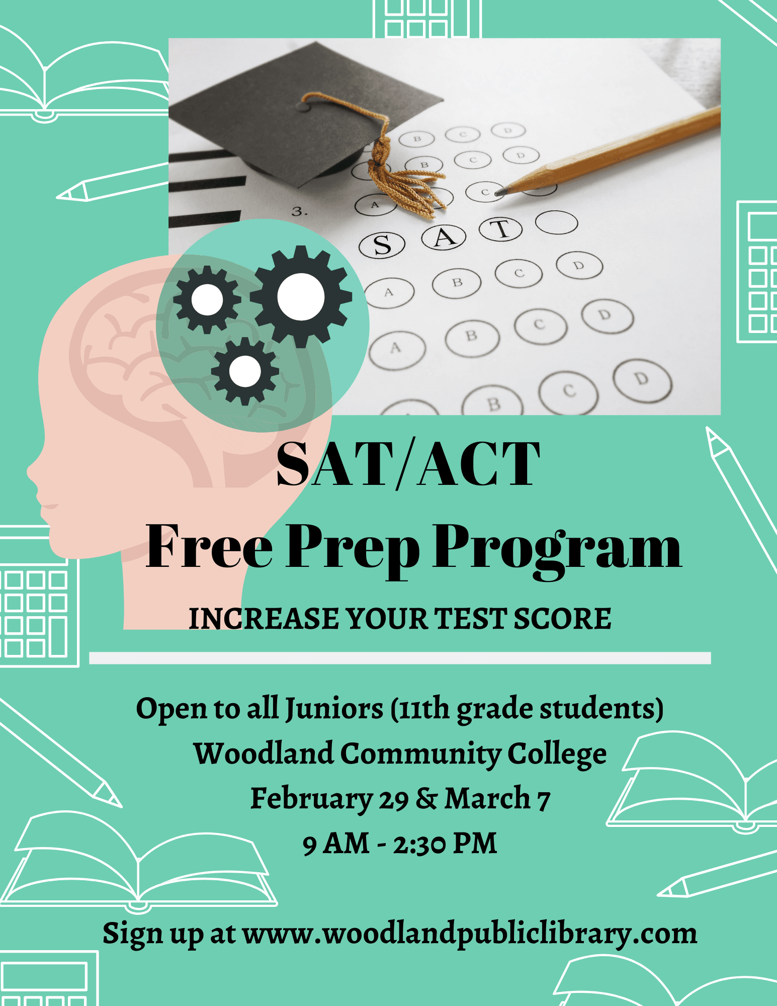 SAT Prep Program 2019 Website Flyer